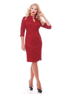 Сукня бордова | 5196064