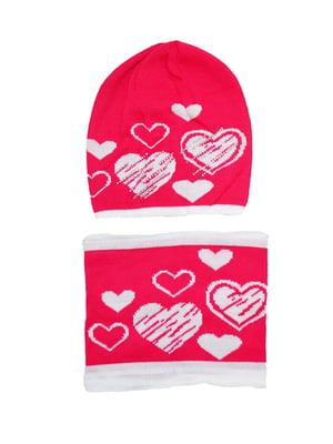 Комплект: шапка и шарф-снуд   5196239