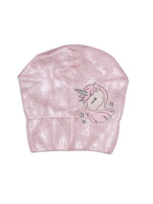 Шапка розовая   5196250