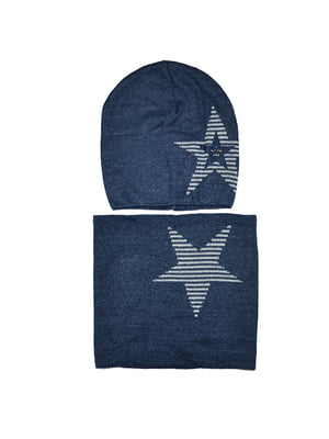 Комплект: шапка и шарф-снуд   5196255