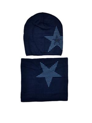 Комплект: шапка и шарф-снуд   5196256