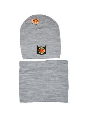 Комплект: шапка и шарф-снуд   5196276