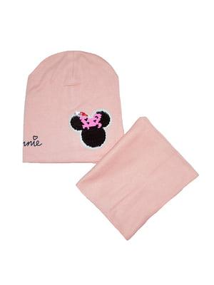 Комплект: шапка и шарф-снуд   5196282
