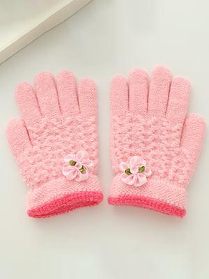 Рукавиці рожеві | 4678835