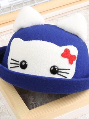 Шляпа синяя | 4887295