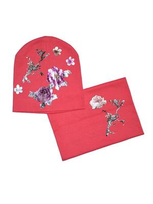 Комплект: шапка і снуд   5196338