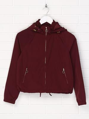 Куртка бордовая | 5196096
