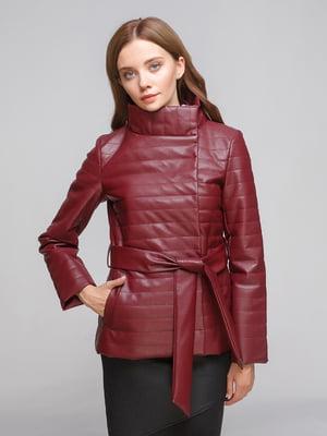 Куртка бордовая | 5194945