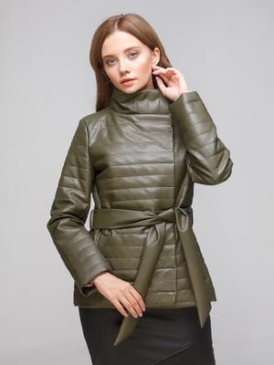 Куртка цвета хаки | 5194947