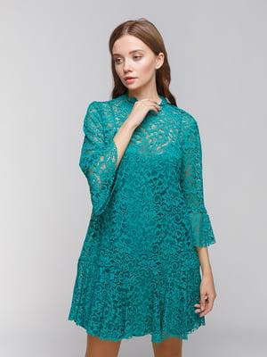 Платье зеленое | 4873476