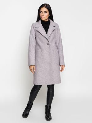 Пальто світло-лилового кольору   5197861