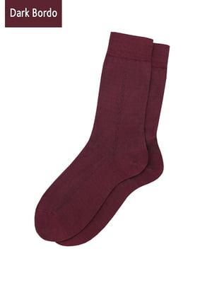 Шкарпетки бордові   5198217