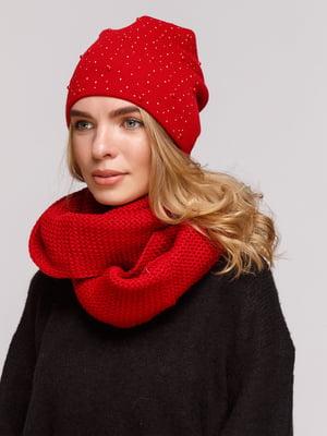 Комплект: шапка і шарф-снуд | 5195726