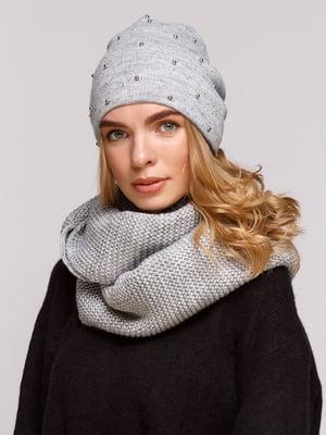 Комплект: шапка і шарф-снуд | 5195718