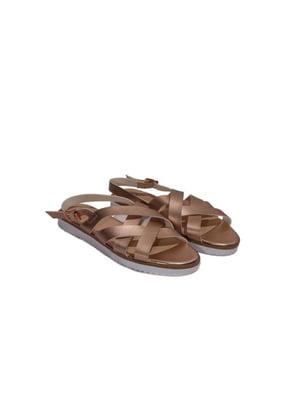 Сандалии коричневые | 4292554