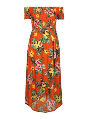 Сукня в квітковий принт   4466947