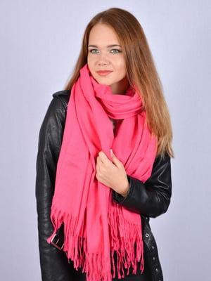 Палантин рожевий | 5201037