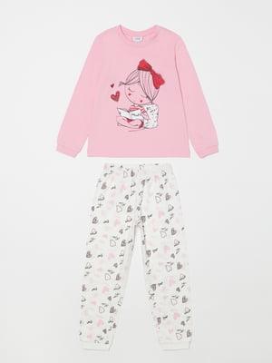 Піжама: лонгслів і штани | 5183587