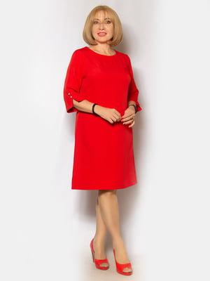 Платье красное   5200934