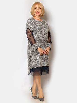 Платье серое | 5200999