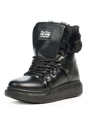 Ботинки черные | 5199012