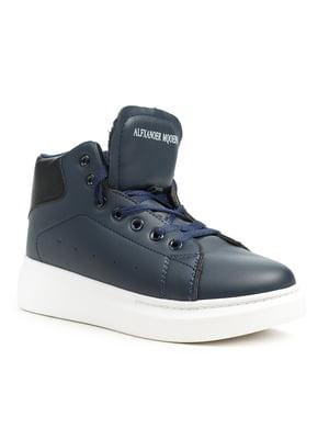 Ботинки синие | 5199010