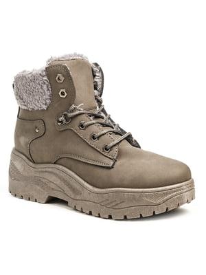 Ботинки серые | 5200191