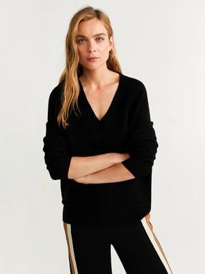 Пуловер чорний | 5188552