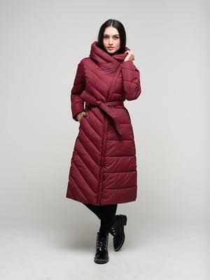 Куртка бордовая   4820179