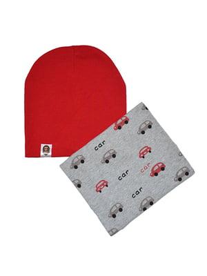 Комплект: шапка и шарф-снуд   5201993