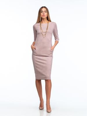 Сукня кольору какао   5202040
