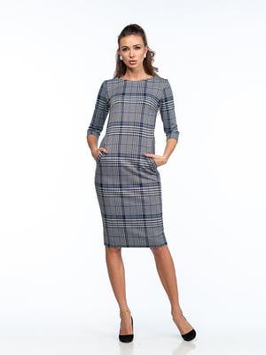Сукня сіро-блакитна | 5202042