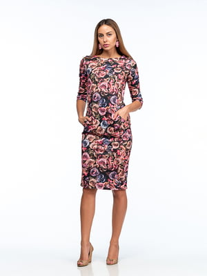 Платье сиренево-розовое   5202045