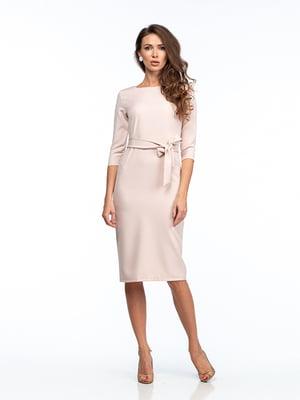Платье цвета пудры | 5202051