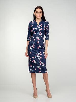 Сукня синьо-рожева | 5202084