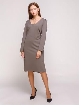 Платье серое | 4817363
