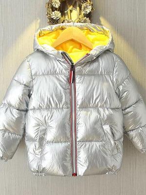 Куртка серебристая | 5202834
