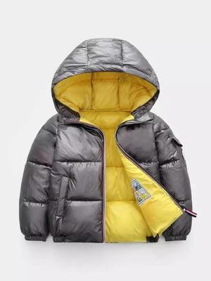 Куртка темно-серая | 5202835