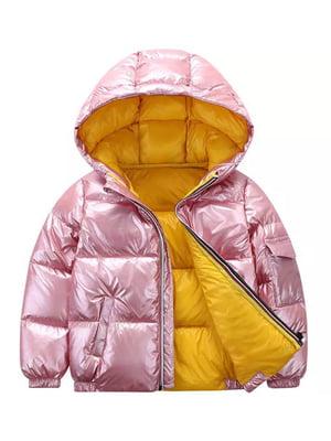 Куртка рожева | 5202837