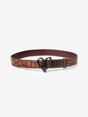 Ремінь коричневий | 5196433