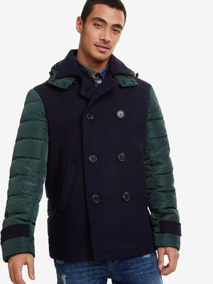 Куртка сине-зеленая | 5196445