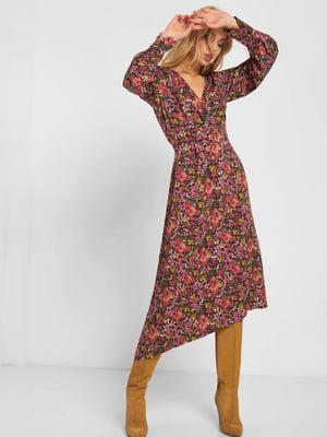 Платье в цветочный принт | 5203210