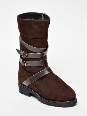 Черевики коричневі | 5203326
