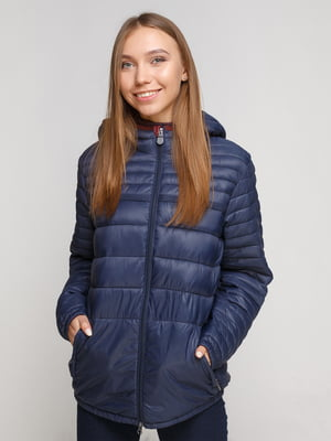 Куртка синя | 3704309