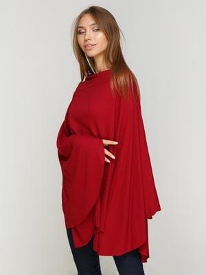 Блуза бордовая | 4768852