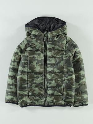Куртка в камуфляжный принт | 5201773