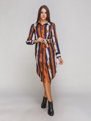 Платье в полоску | 4060280