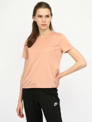 Футболка спортивная розовая | 5204807