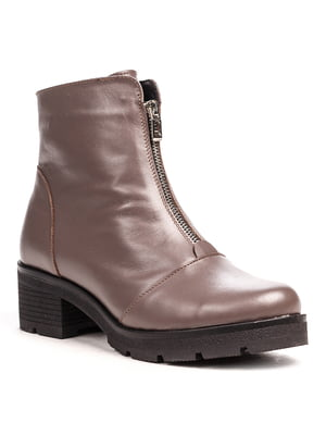 Ботинки цвета капучино | 5202886