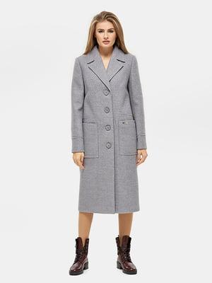Пальто серое - DANNA - 5205585
